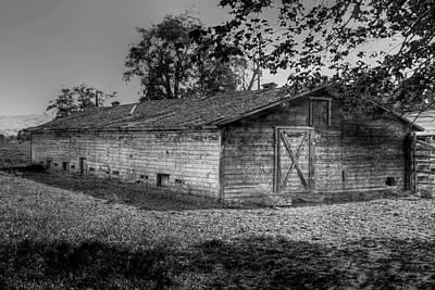 Digital Photograph - Prosser Barn by David Patterson