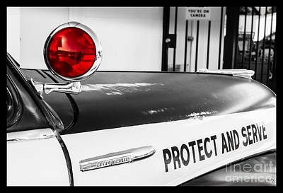 Photograph - Protect And Serve by Imagery by Charly