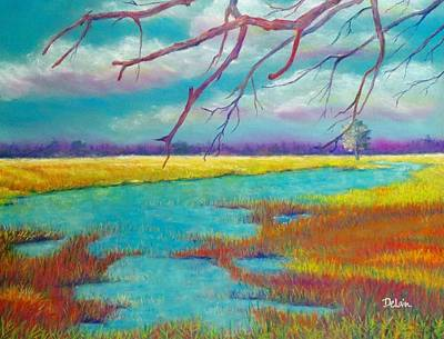 Protect The Wetlands Art Print by Susan DeLain