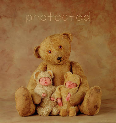 Protected Art Print by Anne Geddes