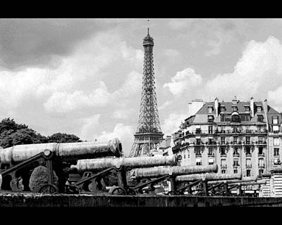 Protecting Paris Art Print by Don Wolf