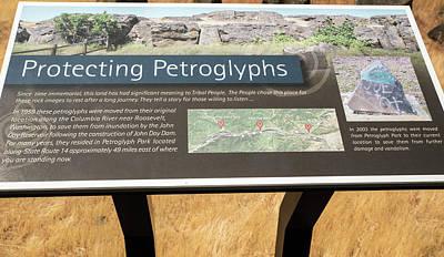 Photograph - Protecting Petroglyphs by Tom Cochran