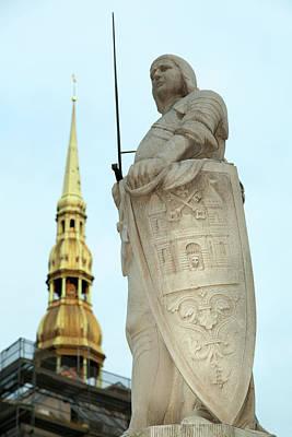 Photograph - Protecting Riga  by Ramunas Bruzas