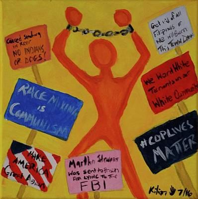 Protest Art Print by Kilian Nance