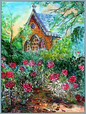 Protestant Church In Edinburgh Scotland Original by Mindy Newman