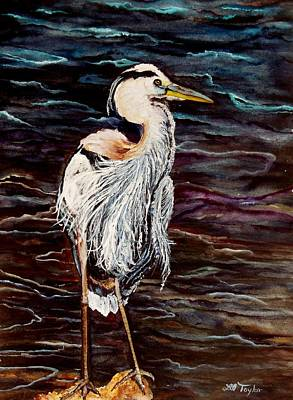 Wading River Painting - Proud And Tall by Lil Taylor