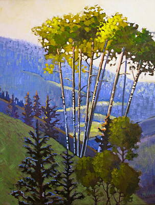 Painting - Proud Aspen by Susan McCullough