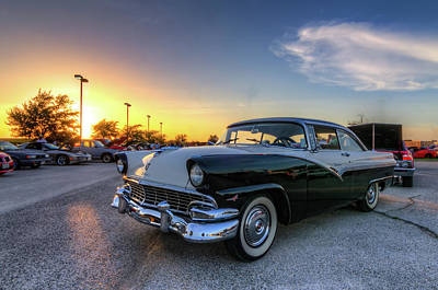 Photograph - Proud Fairlane At Sunset by Tim Stanley