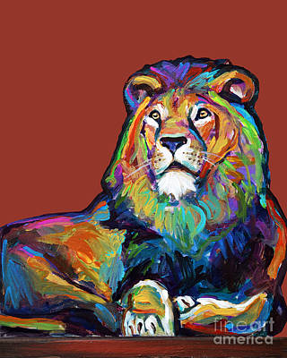 Painting - Proud Lion by Robert Phelps
