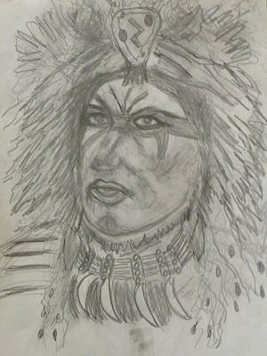 Drawing - Proud Nation by Sharyn Winters