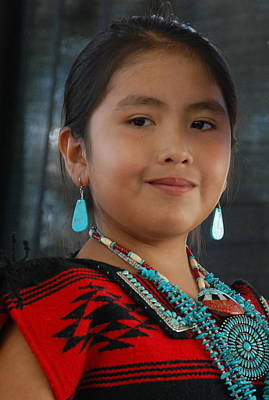 Photograph - Proud To Be A Beautiful Native American by Irina ArchAngelSkaya