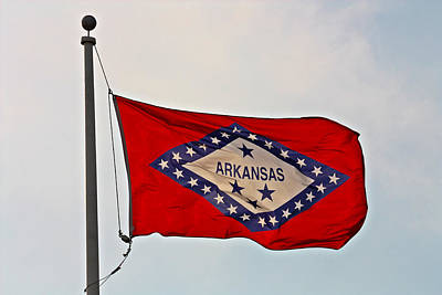 Photograph - Proud To Be An Arkansan- Fine Art by KayeCee Spain