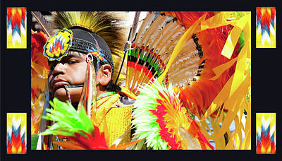 Pow Wow Photograph - Proud To Dance by Theresa Tahara