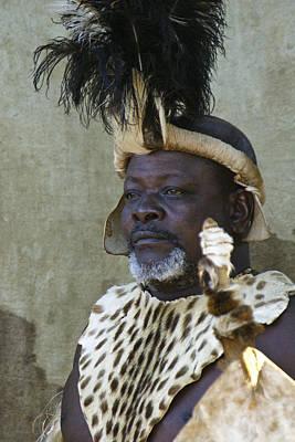 Photograph - Proud Zulu by Michele Burgess