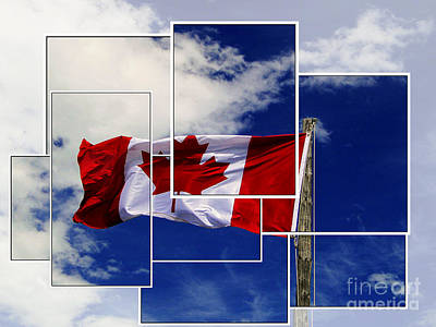 Photograph - Proudly Canadian by Al Bourassa