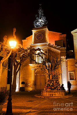 Photograph - Provencal Night by Olivier Le Queinec