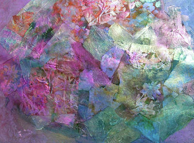 Mural Mixed Media - Provence  by Don Wright