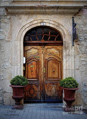 Photograph - Provence Door 14 by Lainie Wrightson
