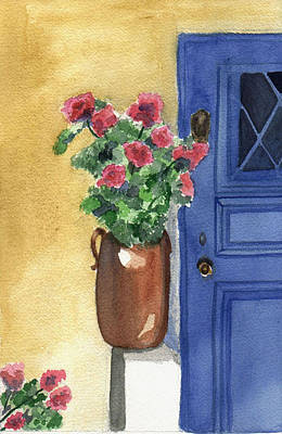 Painting - Provence Door by Jane Croteau