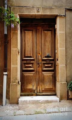 Photograph - Provence Door Number 9 by Lainie Wrightson