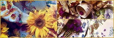 Whats Your Sign - Provence Floral Trio by Jacqueline Manos