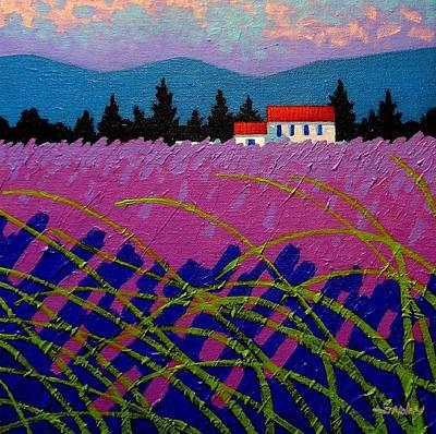 Provence Landscape Original by John  Nolan
