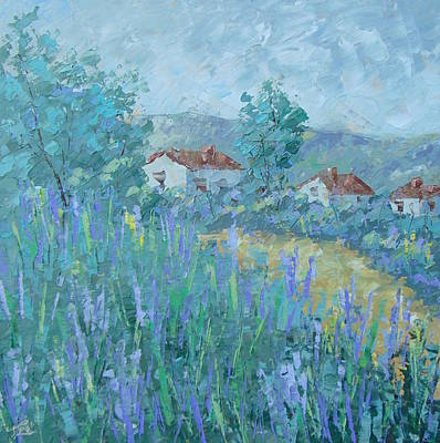Provence Lavender Original by Frederic Payet