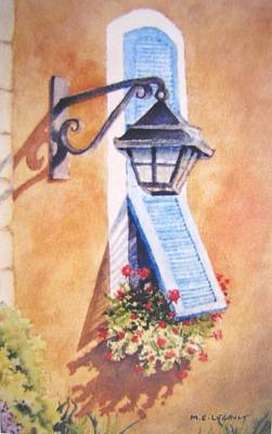 Painting - Provence  by Mary Ellen Mueller Legault