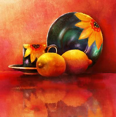 Painting - Provence Reflections by Joe Gilronan
