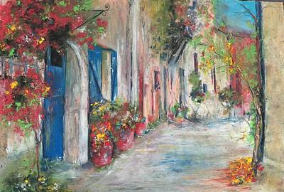 Painting - Provence by Robin Miller-Bookhout