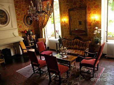 Photograph - Provence Salon by JK McCrea