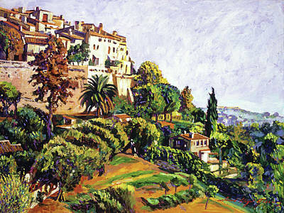 Painting - Provence South Of France by David Lloyd Glover