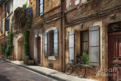 Photograph - Provence Street Scene by Timothy Johnson