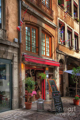 Photograph - French Cafe by Timothy Johnson