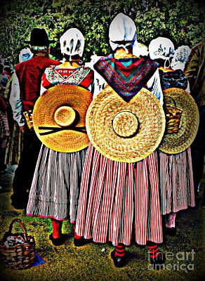 Provence Traditional Costumes Art Print by Lainie Wrightson