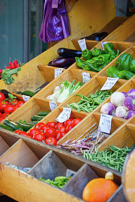 Photograph - Provence Vegetable Market II by Debbie Karnes