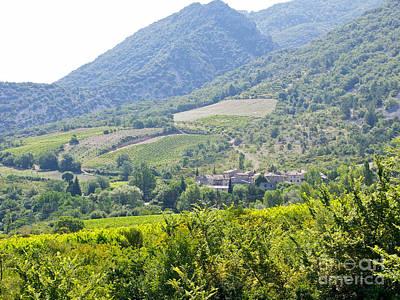 Photograph - Provence Village 2 by JK McCrea