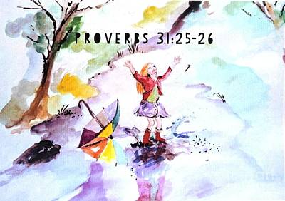 Painting - Proverbs by Amanda Dinan
