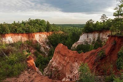 Photograph - Providence Canyon 11 by Kenny Thomas