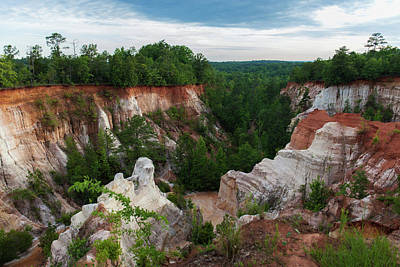 Photograph - Providence Canyon 9 by Kenny Thomas