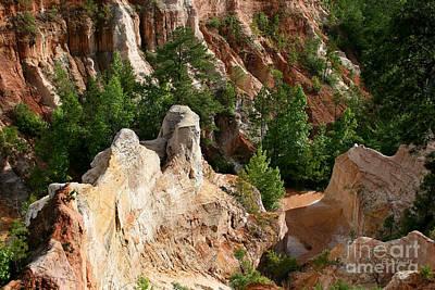 Photograph - Providence Canyon by E B Schmidt