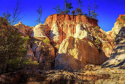 Photograph - Providence Canyon Wall by Doug Camara