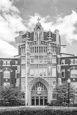 Providence College Harkins Hall Art Print by University Icons