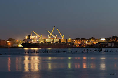 Photograph - Providence Harbor I by Dave Gordon