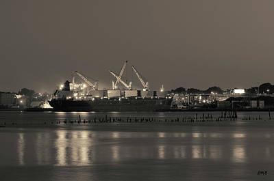 Photograph - Providence Harbor I Toned by David Gordon