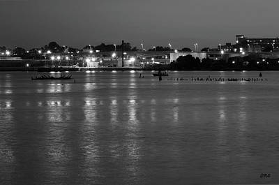 Photograph - Providence Harbor II Bw by Dave Gordon