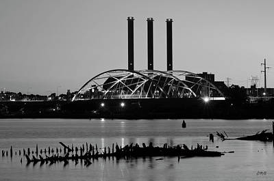 Photograph - Providence Harbor IIi Bw by Dave Gordon