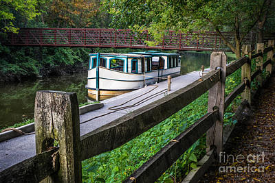 Photograph - Providence Metropark Erie Canal  by Michael Arend