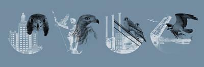 Digital Art - Providence Raptors Landmark Collection - Panoramic by Peter Green