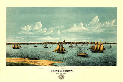 Photograph - Provincetown 1877 by Andrew Fare